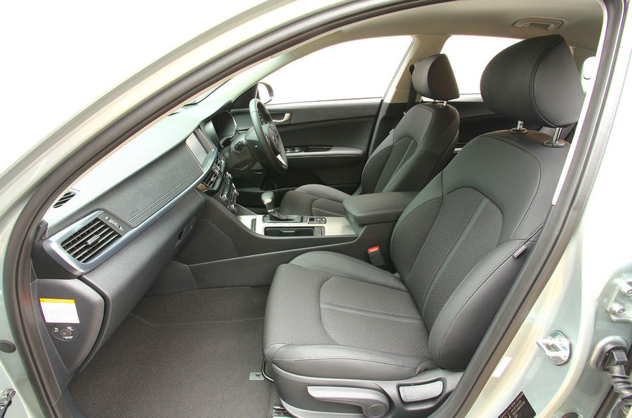 Kia Optima PHEV interior