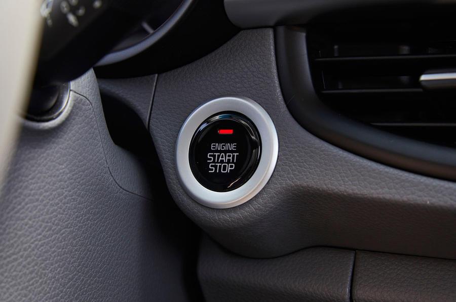 Kia Picanto ignition button