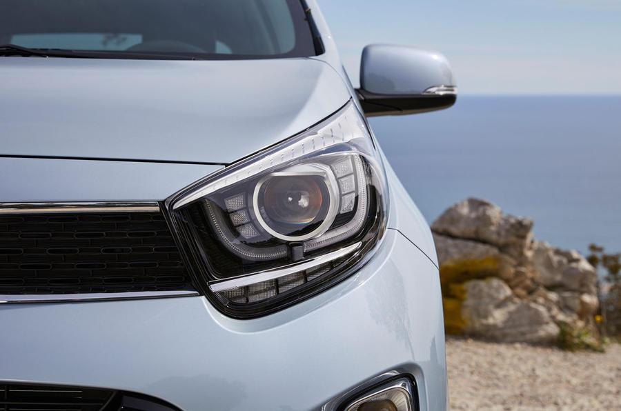 Kia Picanto headlights