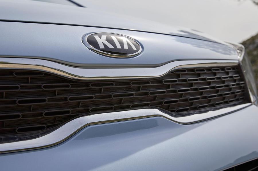Kia Picanto front grille