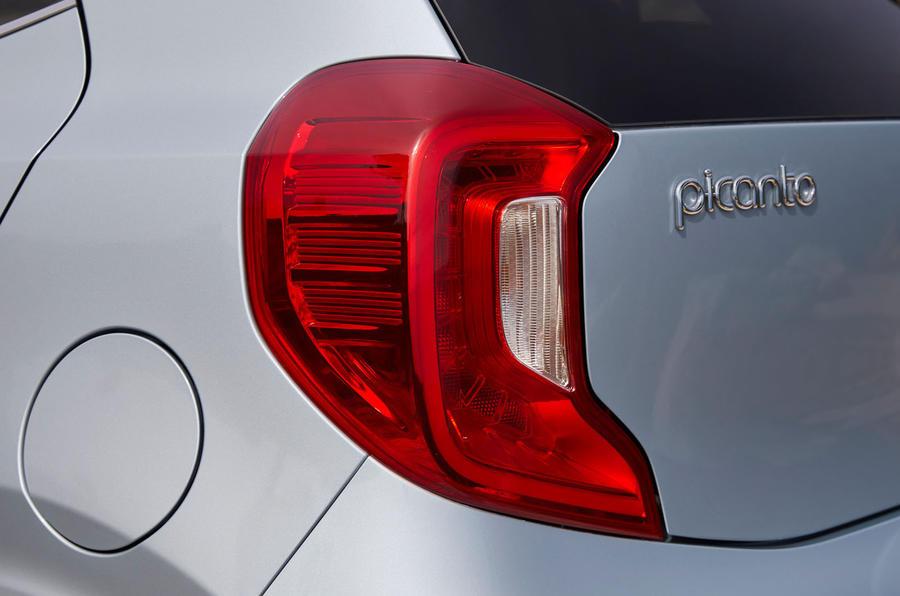 Kia Picanto rear lights