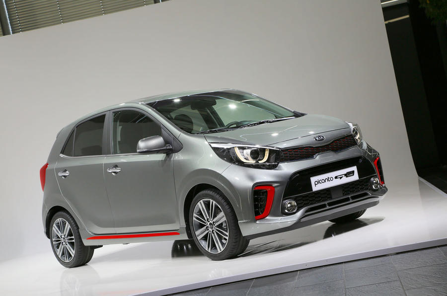 2017 kia picanto revealed at geneva motor show autocar. Black Bedroom Furniture Sets. Home Design Ideas