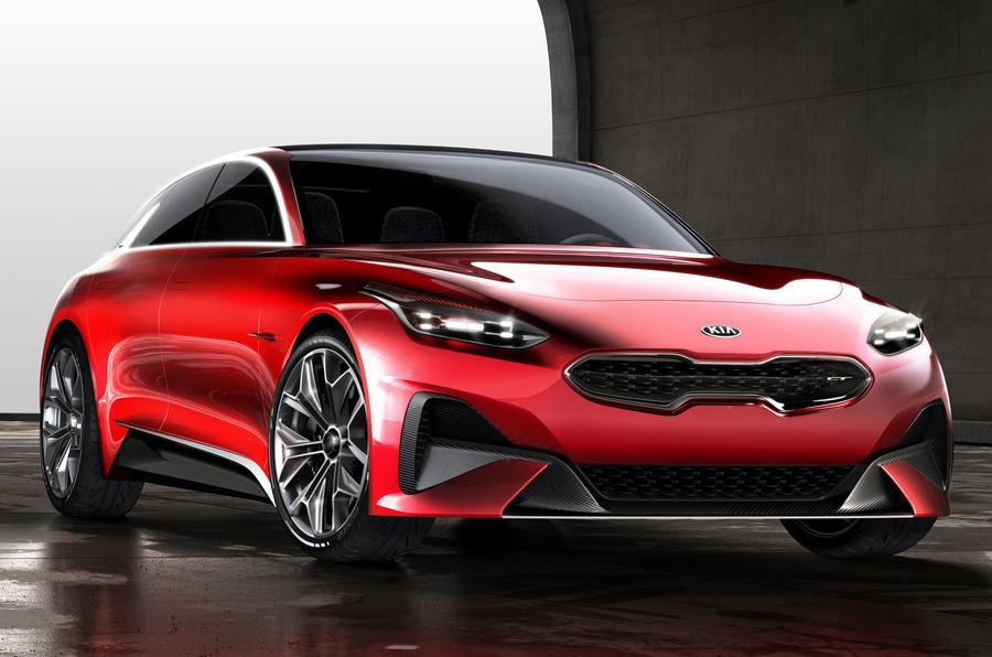 Kia reveals shooting brake concept ahead of Frankfurt motor show