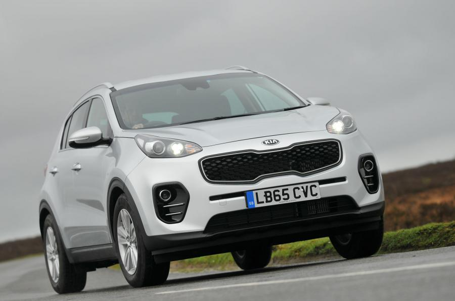 kia sportage uk range drops 10 variants for 2018 autocar. Black Bedroom Furniture Sets. Home Design Ideas