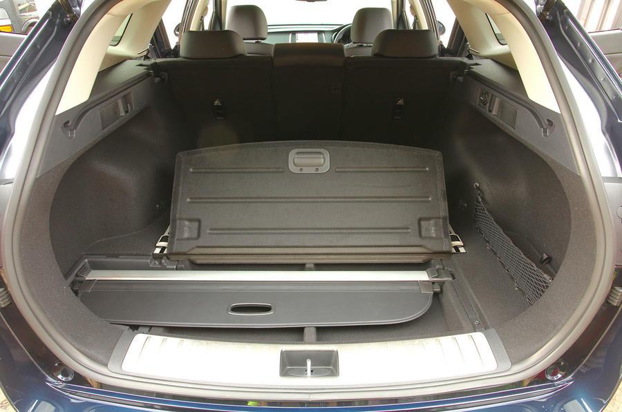Kia Optima Sportwagon boot space