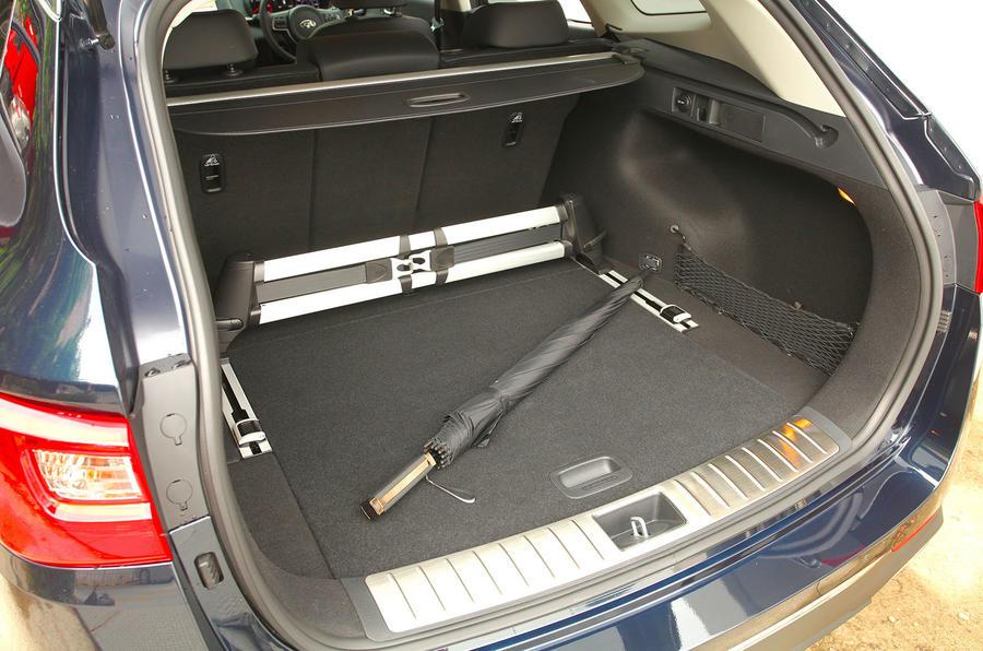 Kia Optima Sportwagon seating flexibility