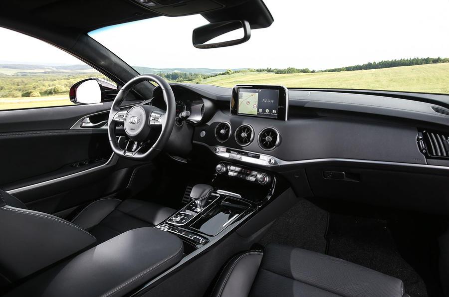Kia Stinger GT dashboard