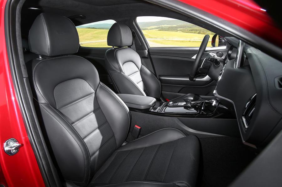 Kia Stinger GT interior