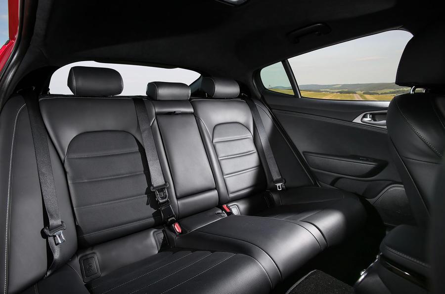 Kia Stinger GT rear seats