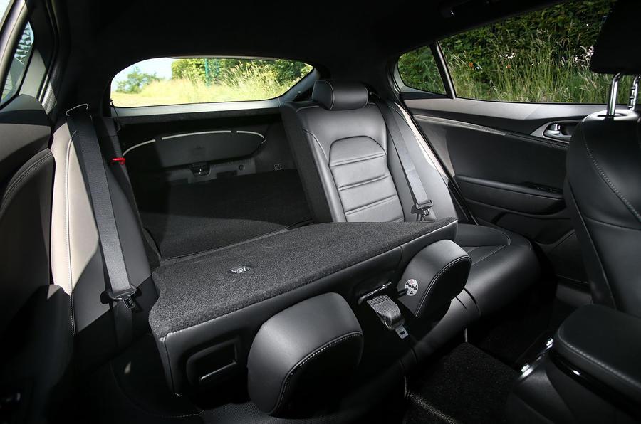 Kia Stinger GT seating flexibility
