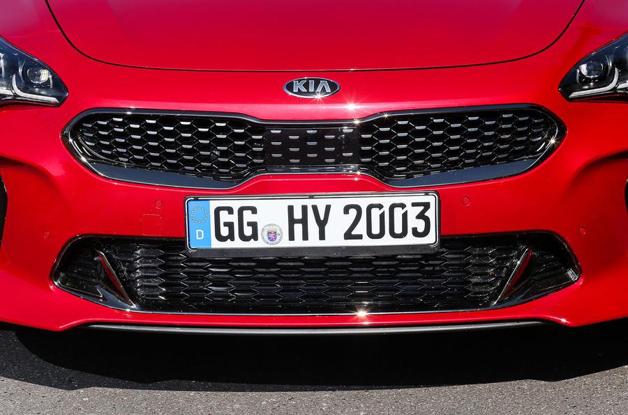 Kia Stinger GT front end