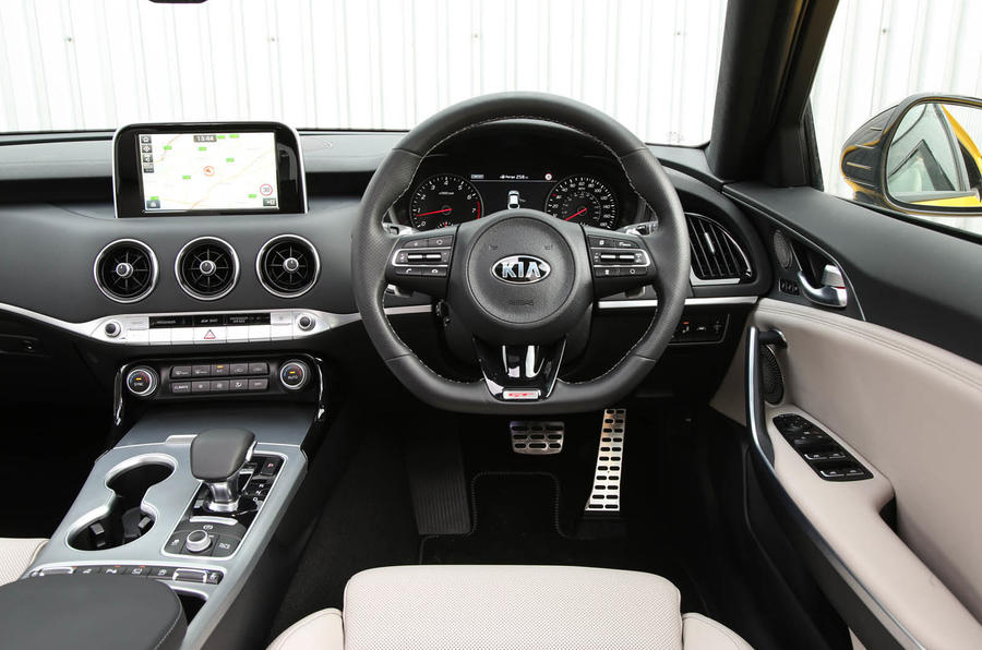 Kia Stinger GT S long-term review driver position