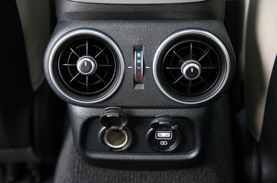 Kia Stinger GT S long-term review rear climate control