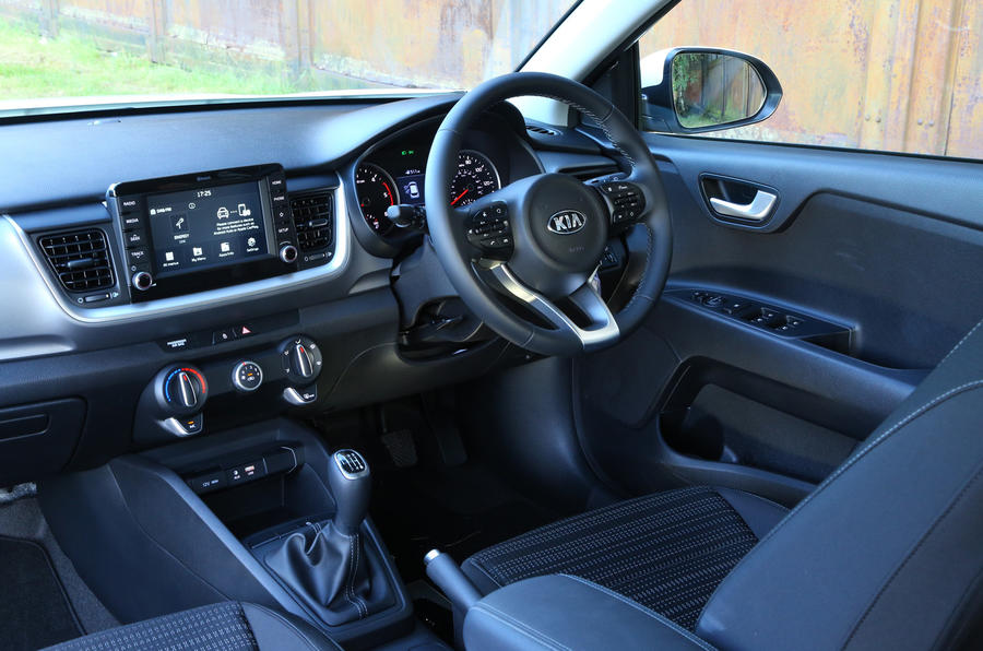 kia stonic 1 0 t gdi 2 2017 review autocar. Black Bedroom Furniture Sets. Home Design Ideas