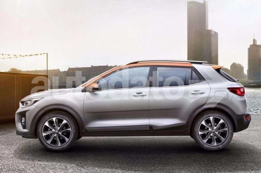 kia stonic first pictures of new small suv leaked online autocar. Black Bedroom Furniture Sets. Home Design Ideas