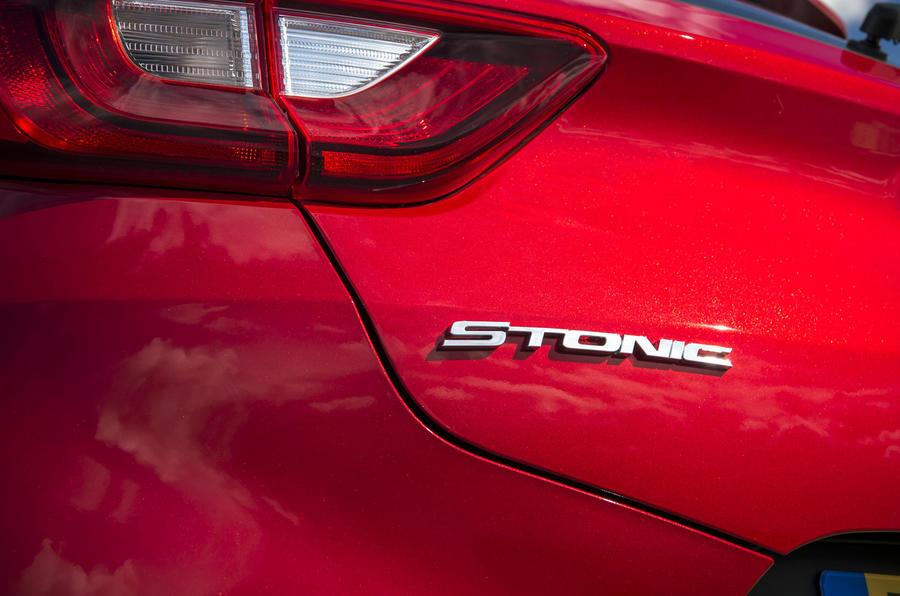 Kia Stonic badging