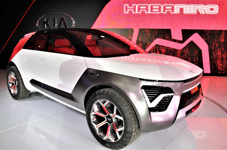 Kia HabaNiro: spicy BEV revealed at the New York Motor Show