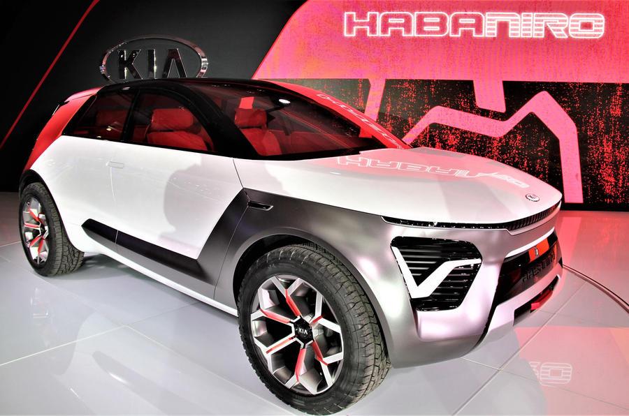 Kia Habaniro concept