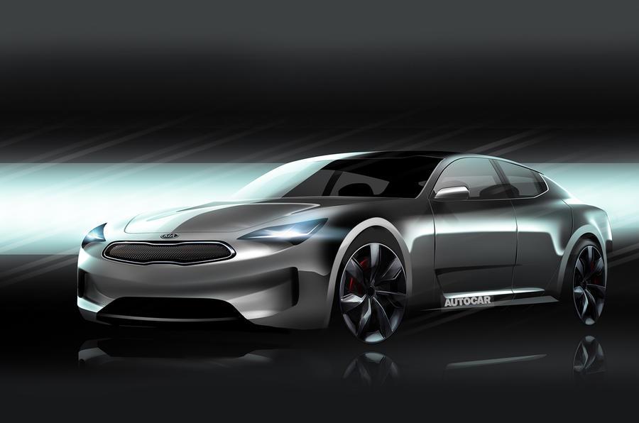 Kia GT Autocar rendering
