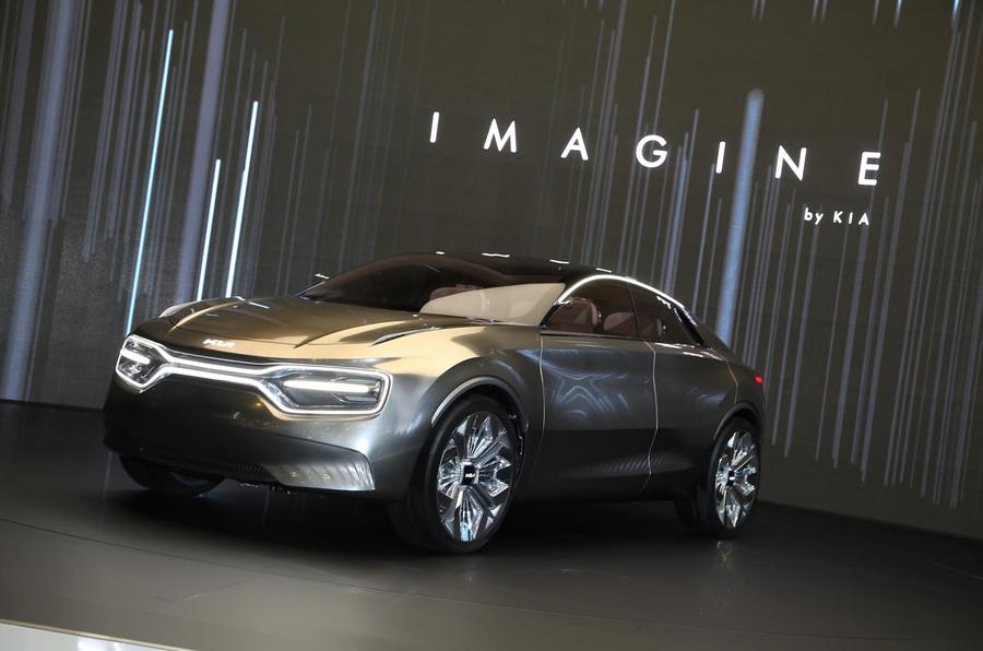 New 'Imagine by Kia' concept: silly name, serious EV
