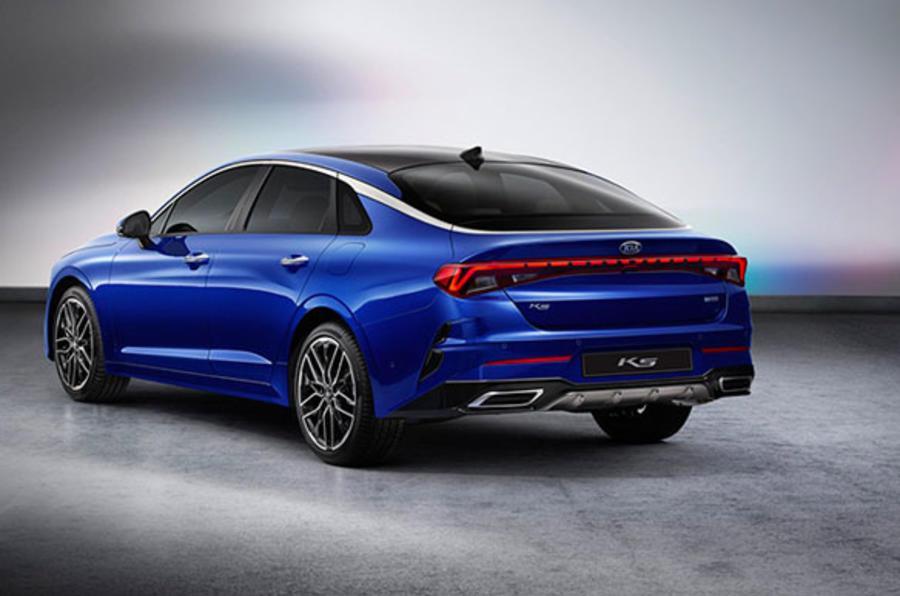 Kia K5 blue 2