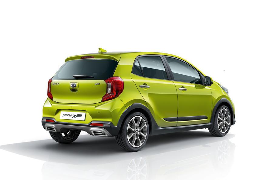 Kia Picanto X-Line rear