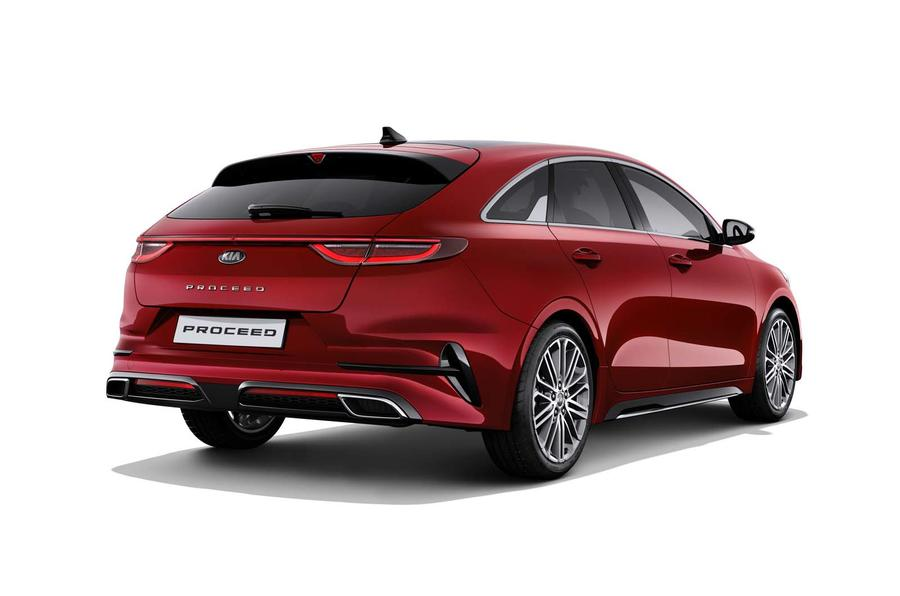 Kia Proceed rear side
