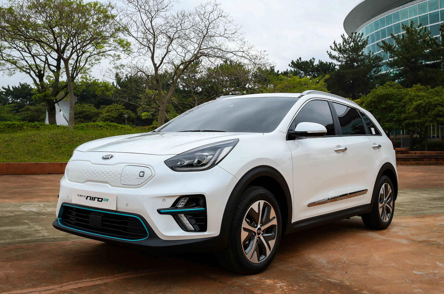 New Kia Niro EV: first pictures of all-electric crossover