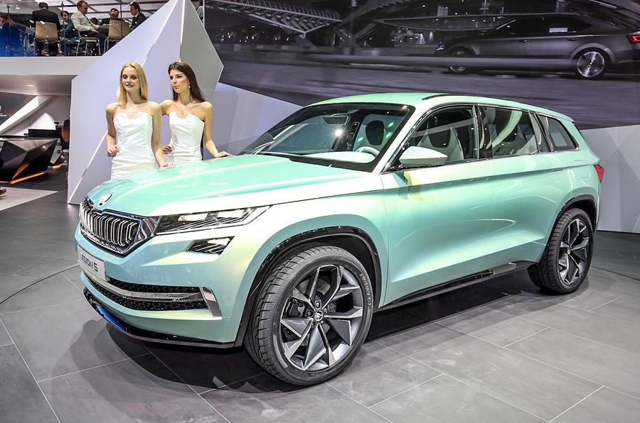 Skoda Visions Concept Previews Kodiaq Suv Autocar