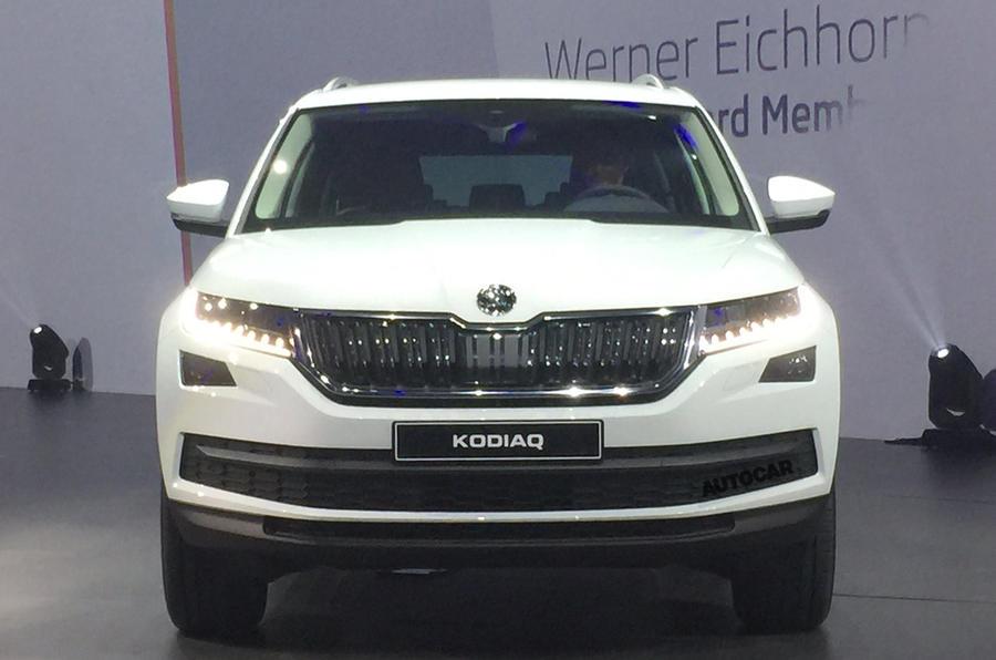 Skoda Kodiaq SUV revealed