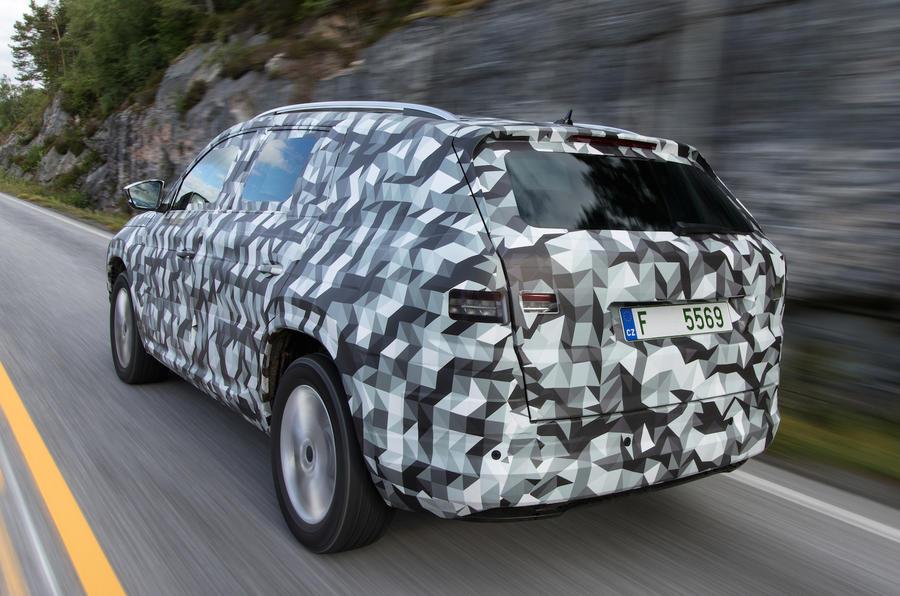 Seller Car >> 2017 Skoda Kodiaq prototype review review | Autocar