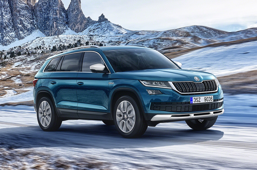 2017 skoda kodiaq scout revealed autocar. Black Bedroom Furniture Sets. Home Design Ideas