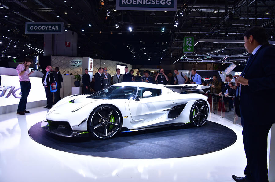 Koenigsegg Jesko supercar aims for 300 miles per hour with 'light speed' tech