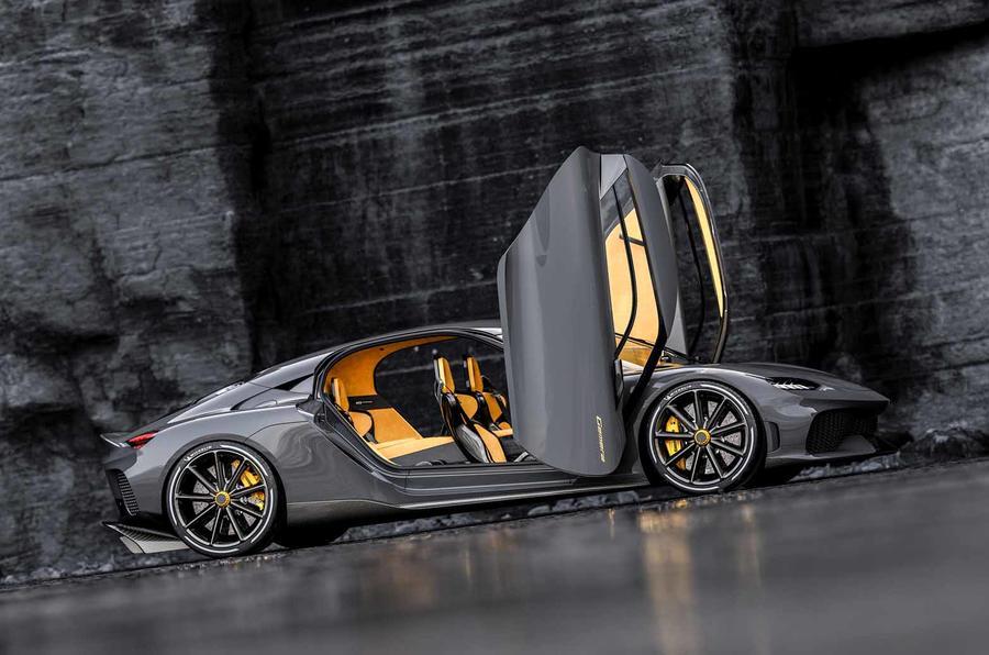 Koenigsegg Gemera side doors