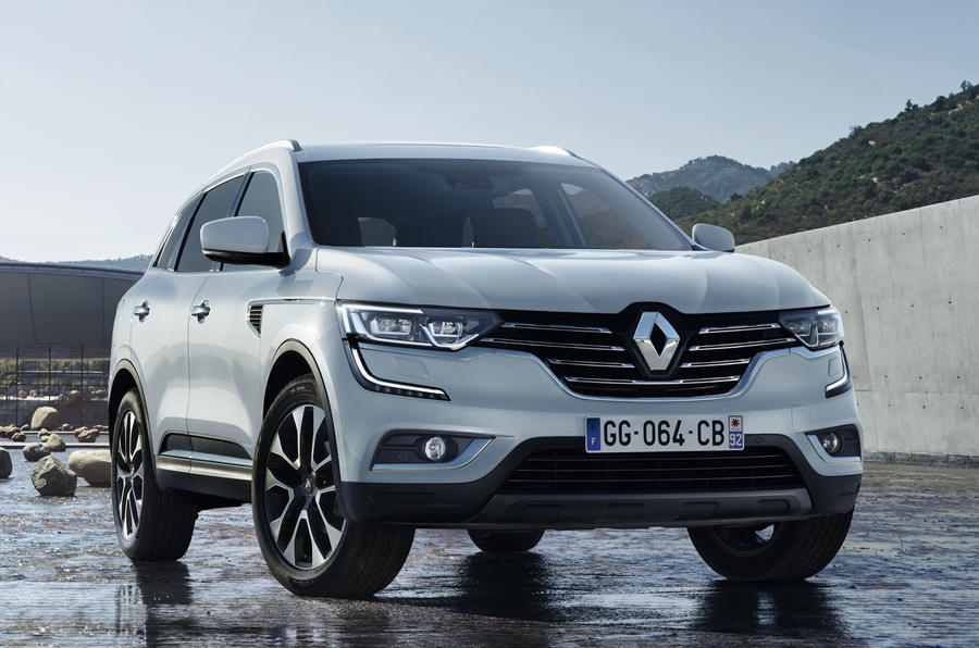 2017 renault koleos suv revealed interior teased autocar. Black Bedroom Furniture Sets. Home Design Ideas