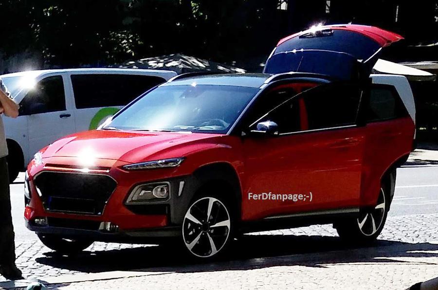 Hyundai Kona Small Suv All But Revealed Ahead Of June