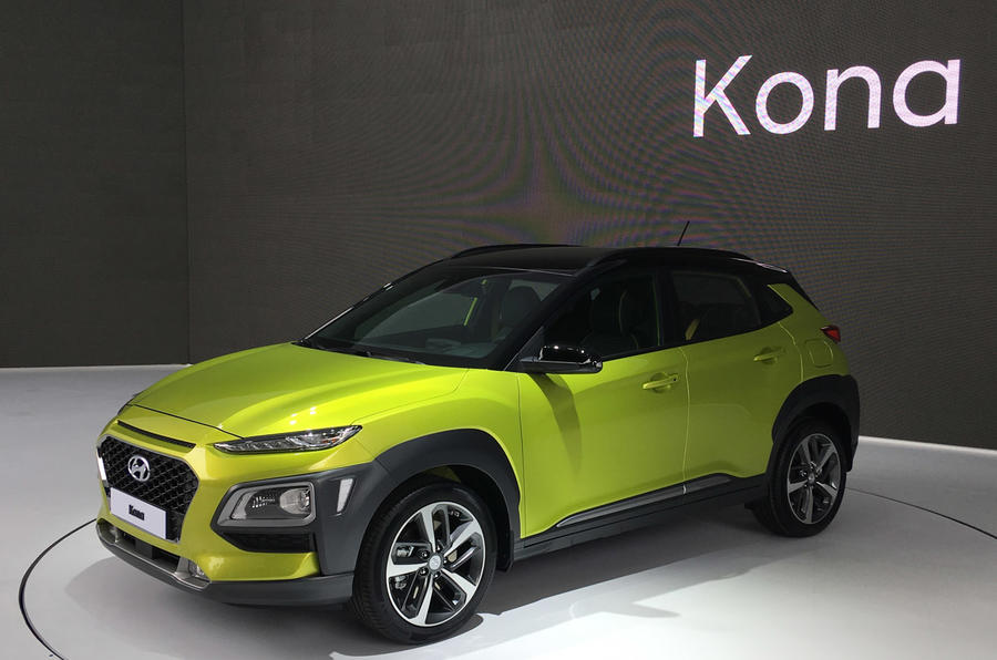 hyundai to launch electric kona suv in 2018 autocar. Black Bedroom Furniture Sets. Home Design Ideas