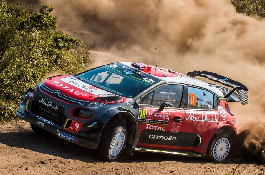 Kris Meeke Citroen C3 WRC