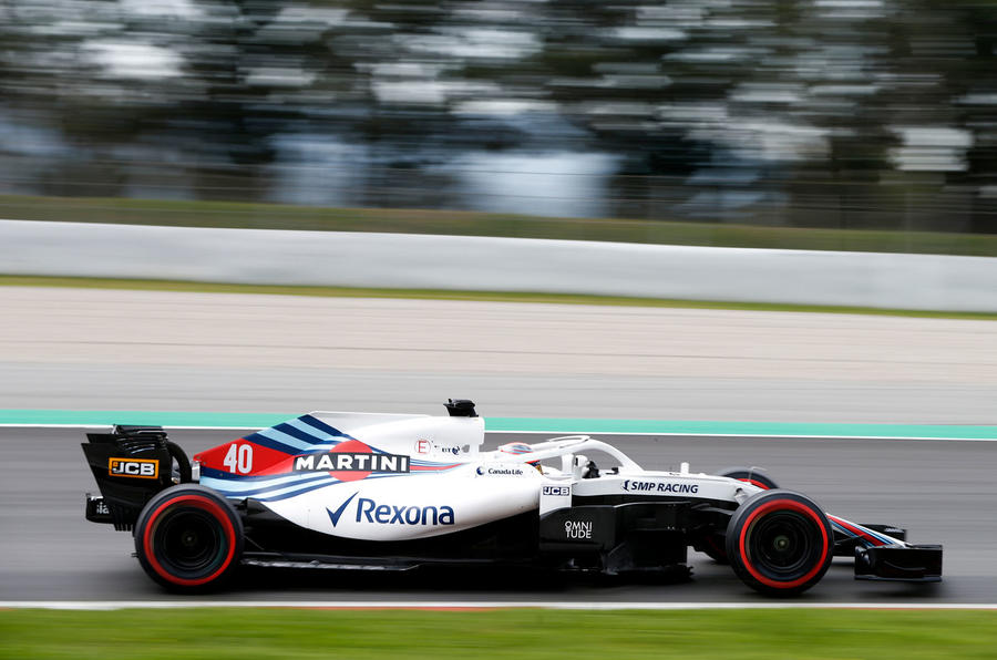 Robert Kubica completes incredible F1 return to drive for Williams