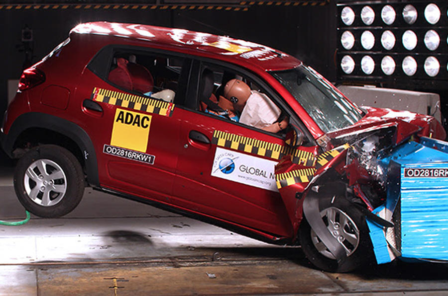 Improved Renault Kwid scores one star in Global NCAP crash testing