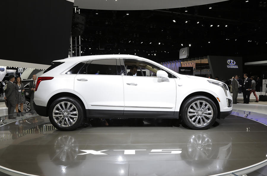 article front trim preview is cylinder crossover a news sport and new turbocharged inch compact daily wheels suv first look small with in quarter engine the here orange autos shown cadillac it autumn ny left