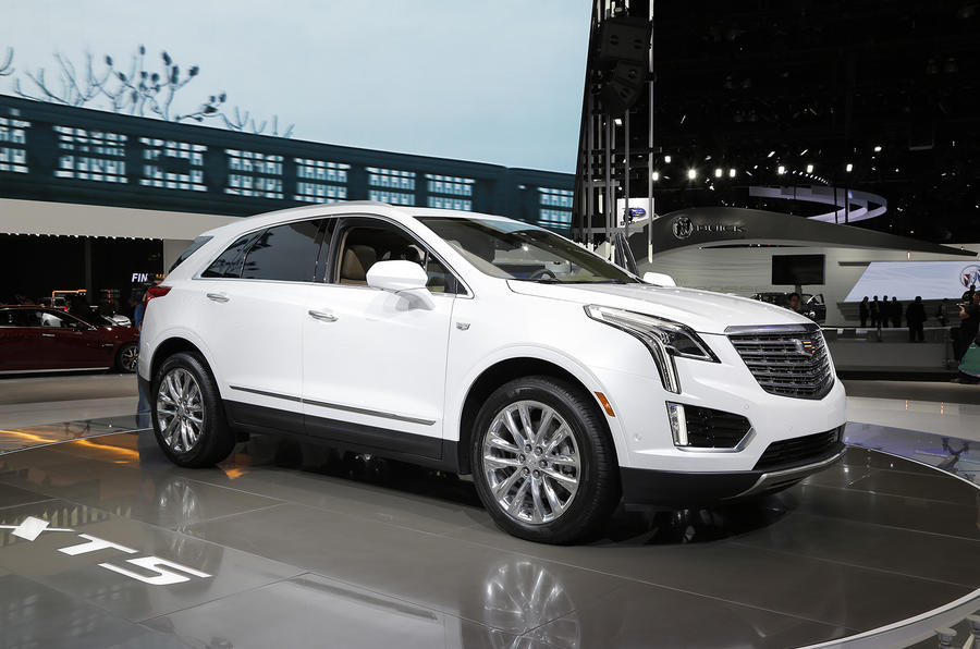 Cadillac XT5 SUV revealed at LA motor show | Autocar