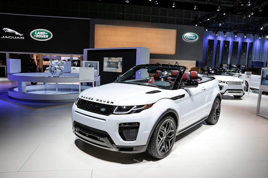 2016 range rover evoque convertible revealed autocar. Black Bedroom Furniture Sets. Home Design Ideas
