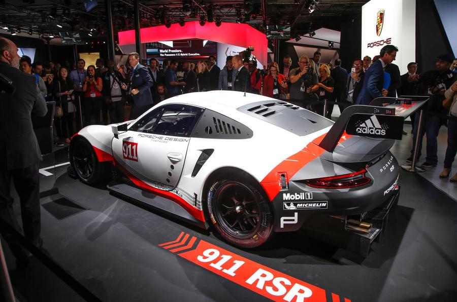 2017 porsche 911 rsr mid engined le mans racer revealed autocar. Black Bedroom Furniture Sets. Home Design Ideas
