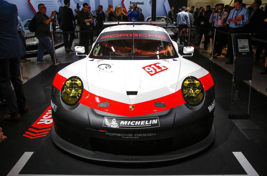 2017 Porsche 911 Rsr Mid Engined Le Mans Racer Revealed