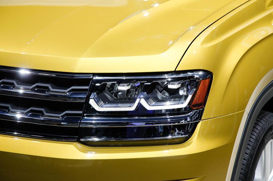2017 Volkswagen Atlas revealed for US market