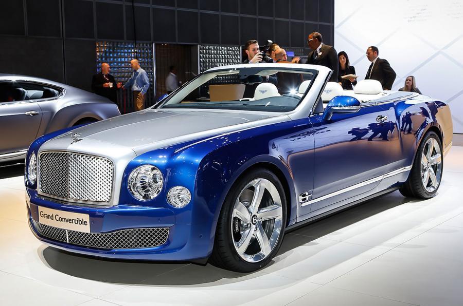 Bentley mulsanne convertible