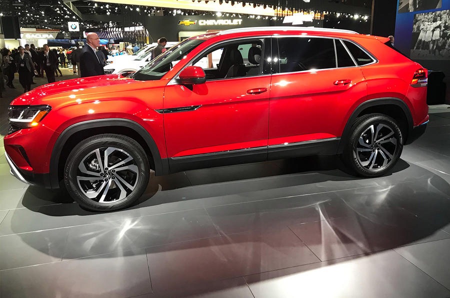 Volkswagen Atlas Cross Sport Suv Revealed For Us Market