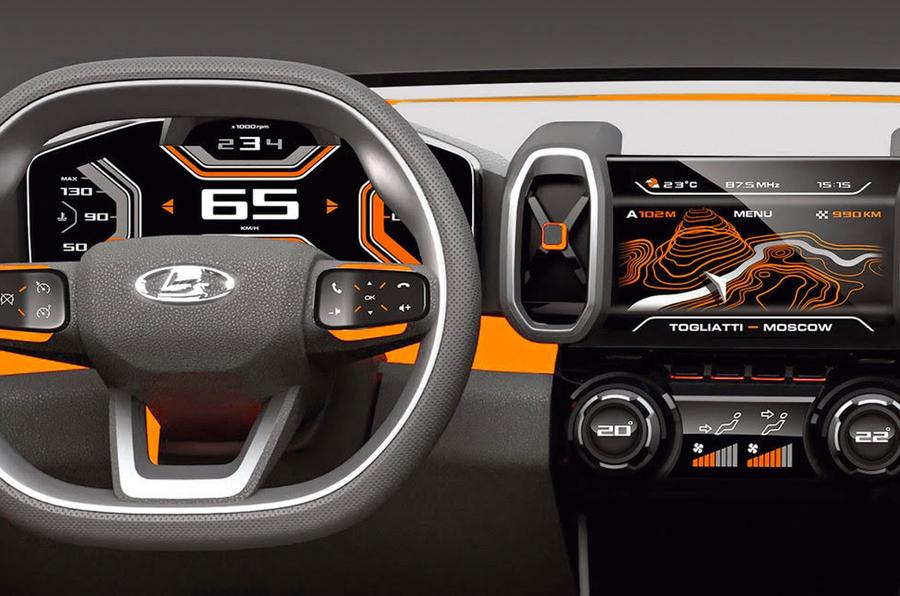 Lada Unveils 4x4 Vision Concept At Moscow Motor Show Autocar
