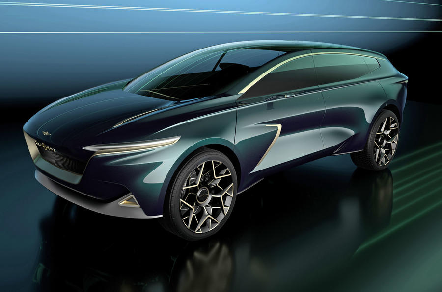 Aston Martin goes mid-engined with Vanquish Vision concept!